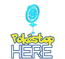 Pokemon Go - Pokestop HERE Photographic Print
