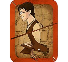 James Potter Playing Card Photographic Print