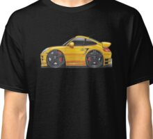 Porsche 997 911 Turbo Caricature Classic T-Shirt