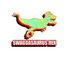 Swaggasaurus Rex Photographic Print