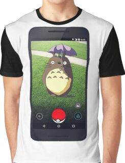 Wild Totoro Appeared Graphic T-Shirt