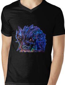 Smaug Design Mens V-Neck T-Shirt