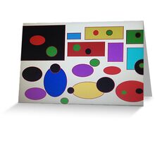 Abstract ness Greeting Card
