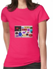 Abstract ness Womens Fitted T-Shirt