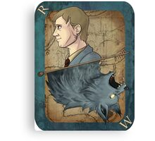 Remus Lupin Playing Card Canvas Print