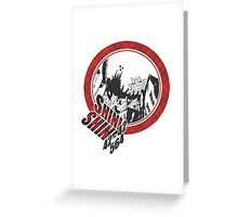 Soul Eater - Death City Greeting Card