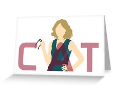 Supergirl - Cat Grant Greeting Card