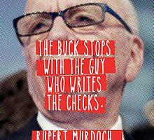 The Guy Who Writes the Checks by redandy