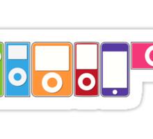 Apple iPod Lineup Sticker