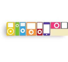 Apple iPod Lineup Canvas Print