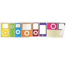 Apple iPod Lineup Poster