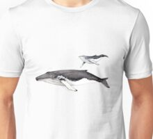 North Atlantic humpback whale Unisex T-Shirt