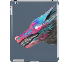 Color Wolf iPad Case/Skin