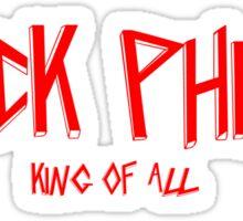 Black Phillip King of All Sticker