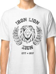 IRON LION ZION BOB MARLEY Classic T-Shirt
