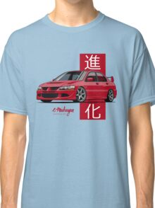 Mitsubishi Lancer Evolution VIII (red) Classic T-Shirt