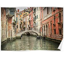 Venetian  Canal Poster