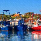 Fisher Boats by jean-louis bouzou