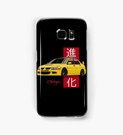 Mitsubishi Lancer Evolution VIII (Yellow) Samsung Galaxy Case/Skin