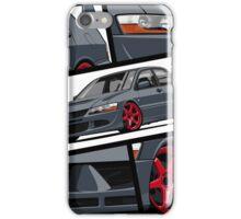 Mitsubishi Lancer Evolution VIII (gray) iPhone Case/Skin
