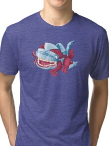 Sky Robot Monster Tri-blend T-Shirt