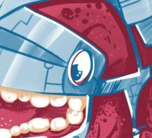 Sky Robot Monster Sticker