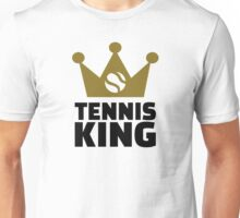 Tennis king crown Unisex T-Shirt
