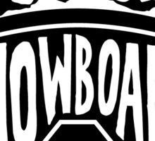 Snowboard Goggles Sticker