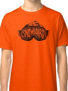 Snowboard Goggles Classic T-Shirt