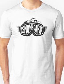 Snowboard Goggles Unisex T-Shirt