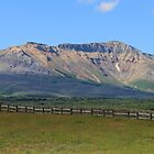 Where Prairie Meets Mountains by Vickie Emms