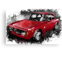 Alfa Romeo Gulia GTA Canvas Print
