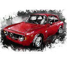 Alfa Romeo Gulia GTA Photographic Print