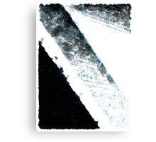 The Blue Streak Canvas Print