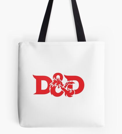 DAD !! DUNGEONS AND DRAGONS Tote Bag