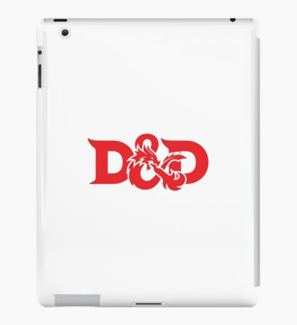 DAD !! DUNGEONS AND DRAGONS iPad Case/Skin