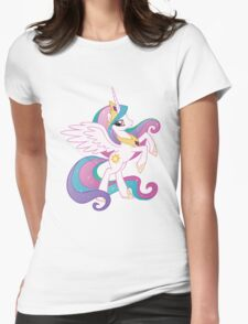 Princess Celestia (My Little Pony)  Womens Fitted T-Shirt