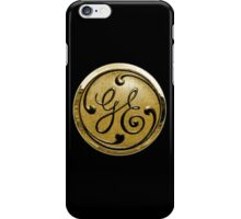 General Electric Vintage iPhone Case/Skin