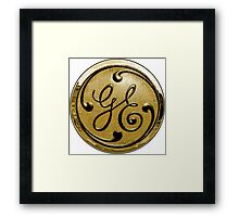 General Electric Vintage Framed Print