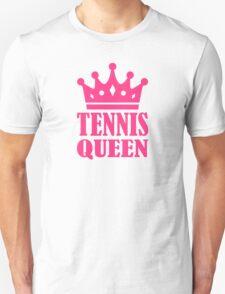 Tennis queen crown Unisex T-Shirt