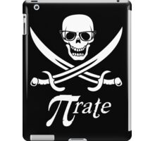 Pi-rate nerdy pirate - www.shirtdorks.com iPad Case/Skin
