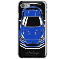 Subaru BRZ (blue) iPhone Case/Skin