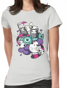 death dice Womens Fitted T-Shirt