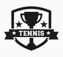 Tennis cup champion by Designzz
