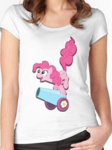 Pinkie Pie (My Little Pony) (W/V) Women's Fitted Scoop T-Shirt