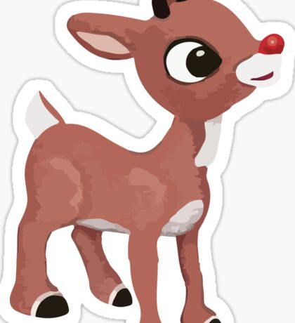 Classic Rudolph Sticker