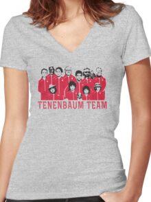 Tenenbaum Team Women's Fitted V-Neck T-Shirt