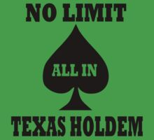 Poker texas holdem One Piece - Short Sleeve