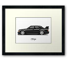 Mercedes 190E Evo II Framed Print