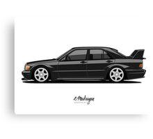 Mercedes 190E Evo II Canvas Print